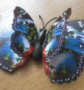 3d бабочки на магните