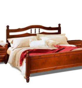 Кровать сосна