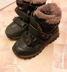 Зимние ботинки 32р