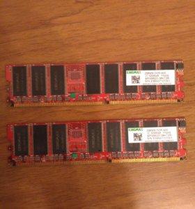 Оперативка DDR-400 256MB