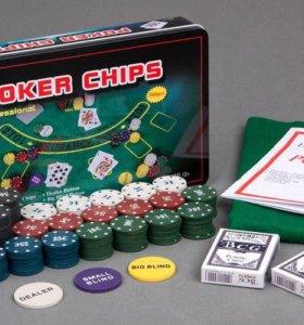 Покер набор на 300 фишек