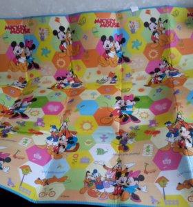 Детский коврик на пол 200х180см Disney