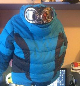 Зимний костюмчика мальчика рост 110+