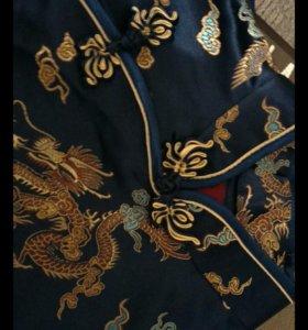 Кимоно шелковое