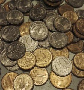 Монеты 1992-1993г