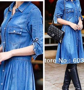 Платья джинсовые новые