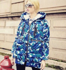 Женская зимняя куртка(новая)