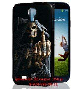 3D чехол iphone 6+