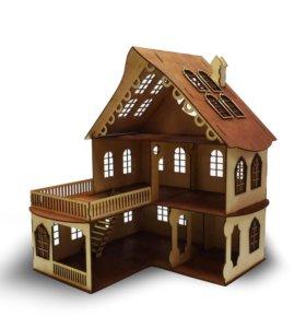 Кукольные домики из дерева