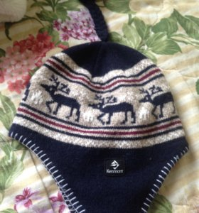 Тёплая шапка мужская