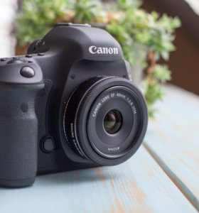 Canon 5d mark 3, canon 40mm и профи фоторюкзак