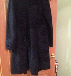 Дизайнерское пальто демисезонное