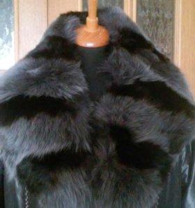 Пальто на кроличьей подстежке