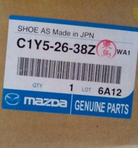 Колодки на Mazda и Mitsubishi