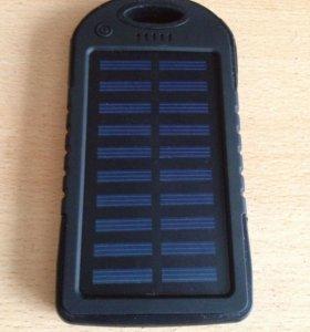 Портативная зарядка на солнечной батарее