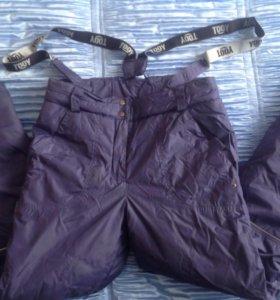 Утеплённые брюки.