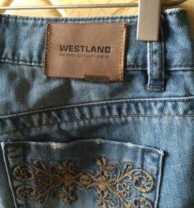 Крутые ддинсовые шорты 25 размер westland