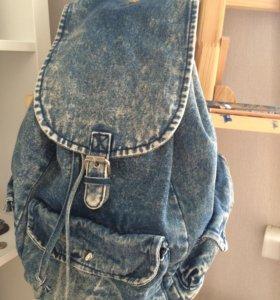 Рюкзак джинсовый (женский)