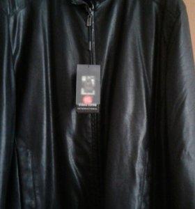 Куртка коженная.осенне-весенняя.9xl