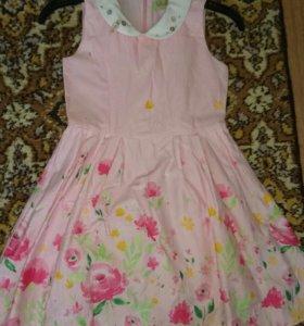 Продам платье для девочки р.116
