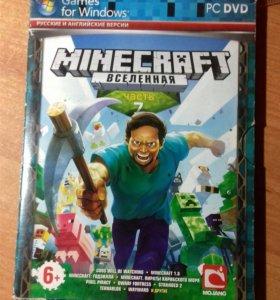 Антология игры Minecraft 1.4.7-1.8.0 и др. игры