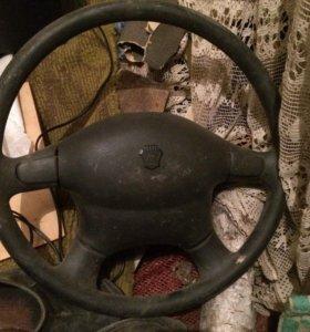 Рулевое колесо на Волга, Газель