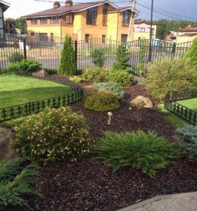 Могильные оградки, газонные ограждения