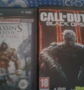 Игры call of duty, assassin creed black flag