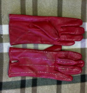Перчатки кожа натур.