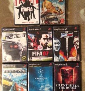 Диски для PlayStation 2