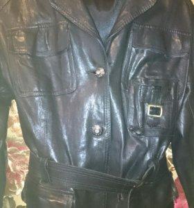 Куртка натуральная кожа бу в отличном состоянии