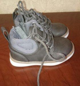 Весение  ботиночки для мальчика