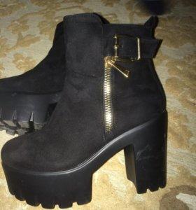 Новые ботинке