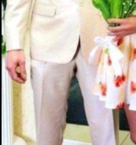 Мужской свадебный костюм Van Cliff тройка