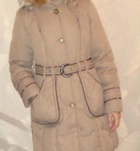пуховик-пальто зимний.