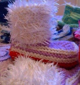 Пинеточки, тёплые носочки