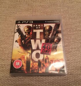 Игра PS3 Army of Two: 40th Day