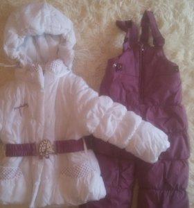 Зимний костюм(куртка+комбенизон)