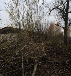Вырубка кустарника, покос сухостоя, спил деревьев