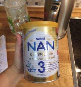 Смесь nan optipro 3 гипоаллергенный