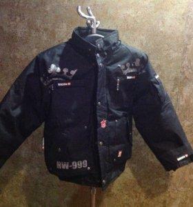 Куртка детская утеплённая