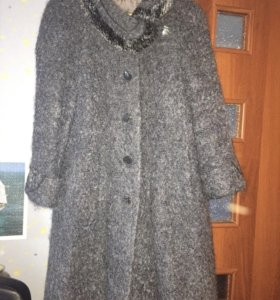 Пальто женское тёплое размер 44-46