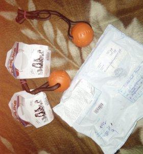 Мячики для занятий с собакой