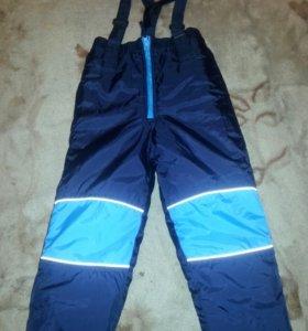 Комбинезон, брюки зимние, новые.