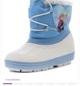 Сапоги Frozen новые 27 размер
