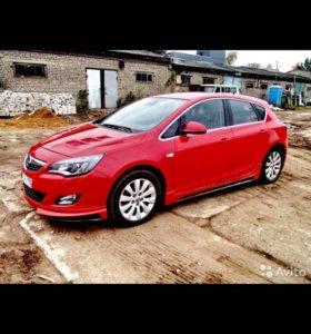 Обвес,накладки,Opel Astra j рестайлинг