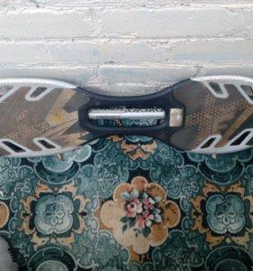 Двухколёсный скейт. Покупал за 5000р. В хор. сост.