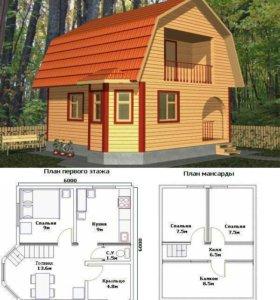 Проектирование домов коттеджей