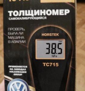 Проверка толщиномером лакокрас-го покрытия на авто