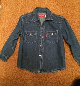 Джинсовые кофточки - курточки